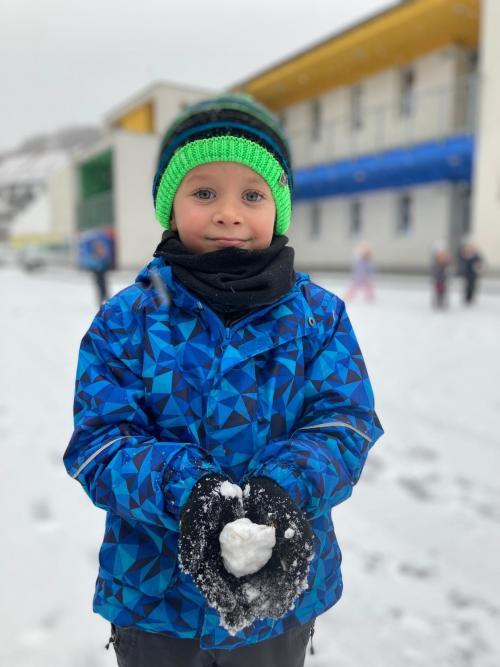 Hrátky se sněhem