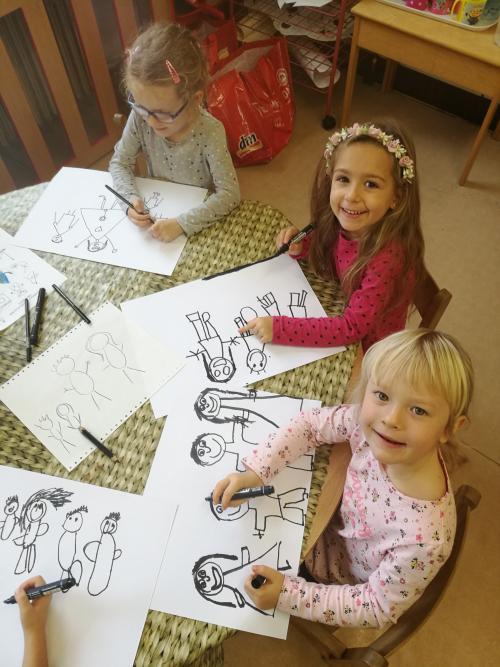 Kreslíme naši rodinu